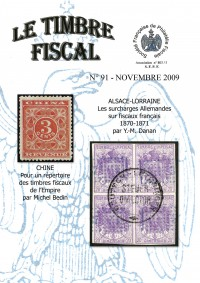 Bulletin Le Timbre Fiscal n°91...