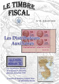 Bulletin Le Timbre Fiscal n°93...