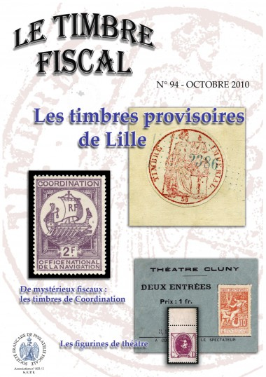Bulletin Le Timbre Fiscal n°94