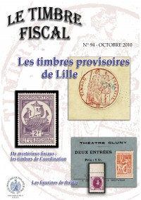 Bulletin Le Timbre Fiscal n°94...