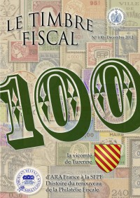 Bulletin Le Timbre Fiscal n°100...