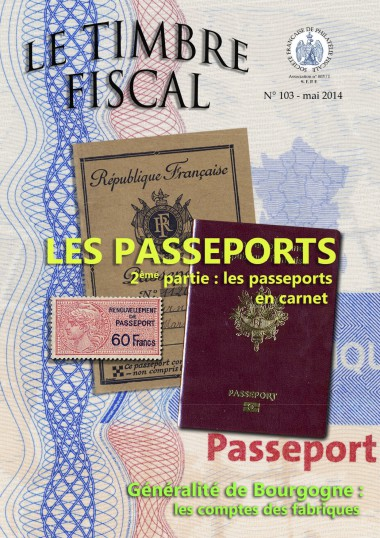 Bulletin Le Timbre Fiscal n°103