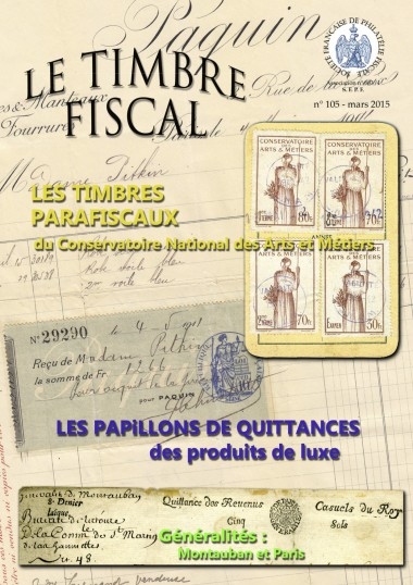 Bulletin Le Timbre Fiscal n°105