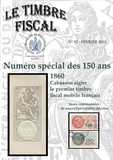 Bulletin Le Timbre Fiscal n°92 Image 1