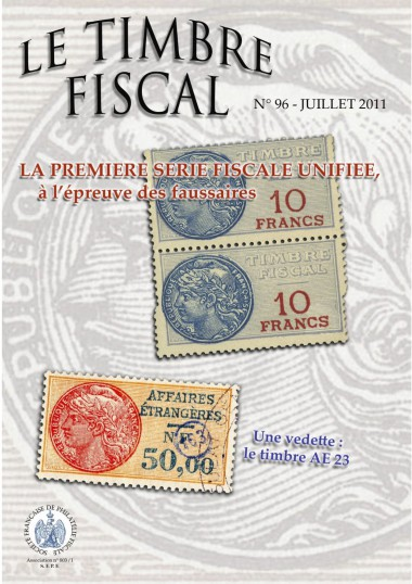 Bulletin Le Timbre Fiscal n°96 Image 1