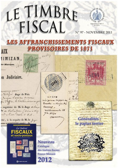 Bulletin Le Timbre Fiscal n°97 Image 1