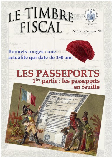 Bulletin Le Timbre Fiscal  N°102