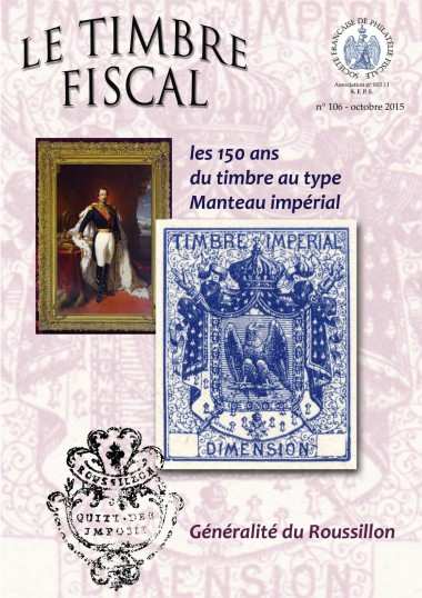 Bulletin Le Timbre Fiscal n°106 Image 1
