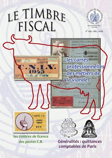 Bulletin Le Timbre Fiscal n°109 Image 1