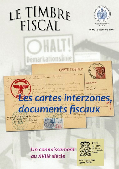 Bulletin Le Timbre Fiscal n°113 Image 1